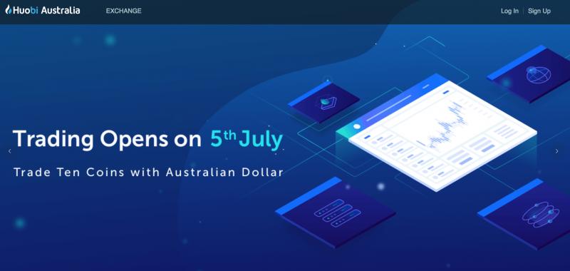 Huobi(フオビー)がオーストラリアで取引所を開始、ブロックチェーンに関する投資も検討中