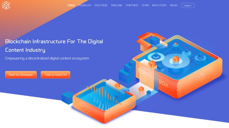 仮想通貨ContentBox / BOXの特徴・将来性を解説!取引所・チャートまとめ