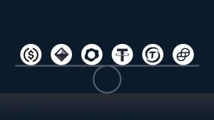 BitfinexがUSDステーブルコイン4種(USDC/TUSD/PAX/GUSD)を上場