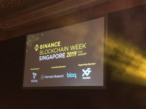 【イベントレポート】Binance Blockchain Week Singapore