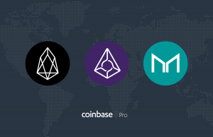 Coinbase Pro(コインベース・プロ)がEOS・REP・MKRの取り扱いを開始