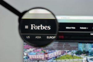 Forbesがブロックチェーンを採用する大企業50社のリスト「Blockchain 50」を公開