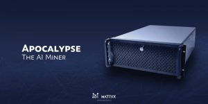 Matrix AI NetworkがAIマイニング機器「Apocalypse」をリリース
