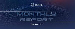 Matrix AI Networkが2019年10月版の活動報告書を公開