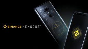 HTCブロックチェーンスマホEXODUS 1がBinance ChainとDEXをサポートした限定版を発売