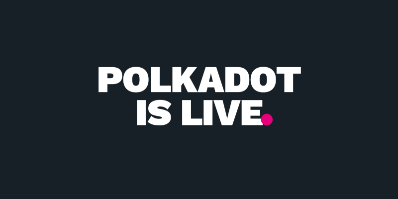 Polkadotが初期バージョンのネットワークをローンチ