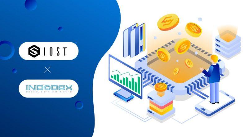 IOSTがインドネシア最大の暗号資産取引所INDODAXに上場