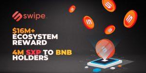 Binanceの $BNB トークン保持者へ $SXP のエアドロップが行われる