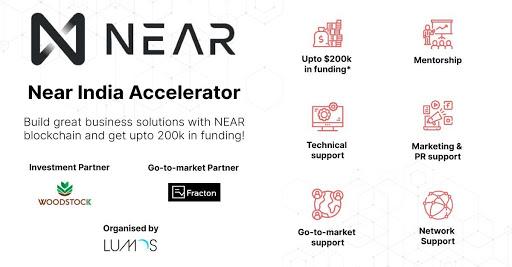 Fracton Ventures、NEARプロトコル主催のアクセラレーションプログラム「NEAR India Accelerator」にパートナー企業として参画