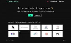 暗号通貨のボラティリティをトークン化するvolmex.financeがメインネット上にローンチ