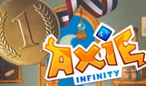 Axie Infinity(アクシーインフィニティ)がNFTプロジェクトで取引高で1位になる。