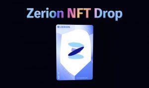 ポートフォリオサービスのZerionがオリジナルNFTをエアドロップ