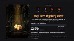 StepHeroがゲーム内で利用できるNFTアセットを8月31日23時より8000個限定で販売開始